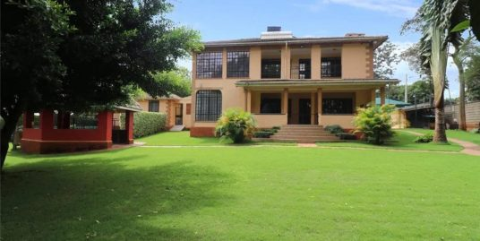 A PRIME AMBASSADORIAL DOUBLE STOREY RESIDENTIAL HOUSE IN RUNDA