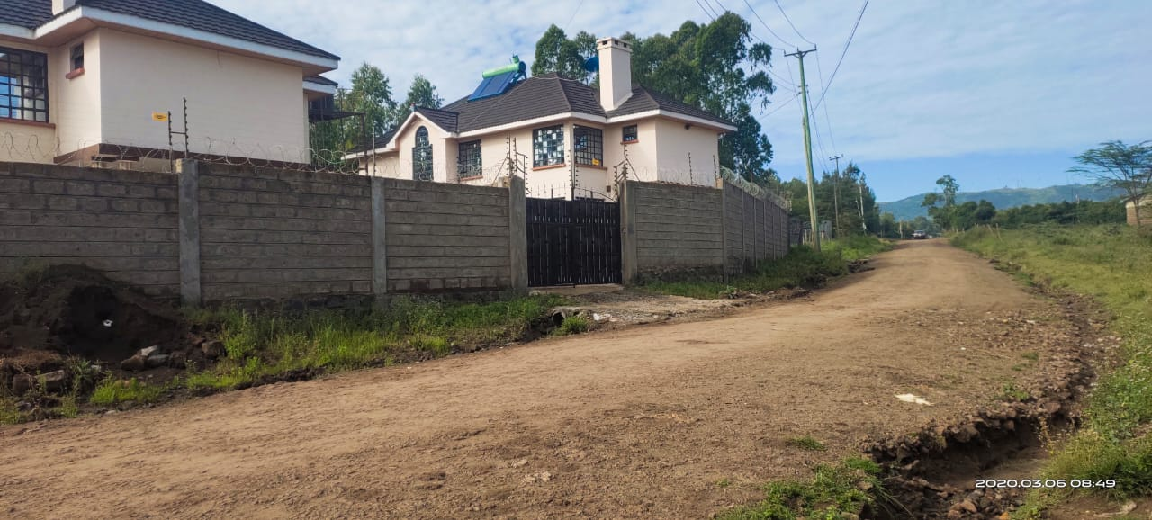 A PRIME TWO (2 NO.) PLOT EACH DEVELOPED WITH A DOUBLE STOREYED RESIDENTIAL HOUSE AT OLOOLUA NGONG KAJIADO COUNTY
