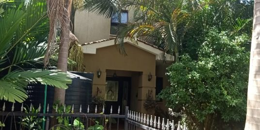 A PRIME FOUR BEDROOM TOWNHOUSE WITH STAFF QUARTER WITHIN COLLINGHAM GARDENS RESIDENCE IN KAREN NAIROBI CITY COUNTY