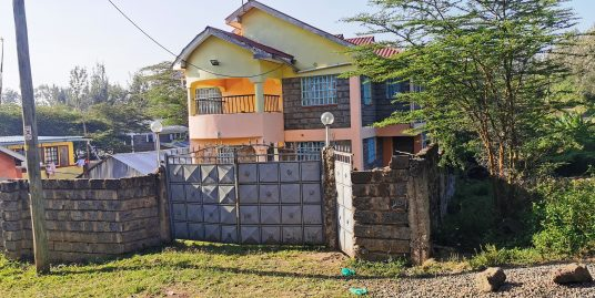 A PRIME FOUR BEDROOM DOUBLE STOREY HOUSE AND AN EXTERNAL TOILET IN KANDISI AREA, ONGATA RONGAI, KAJIADO COUNTY